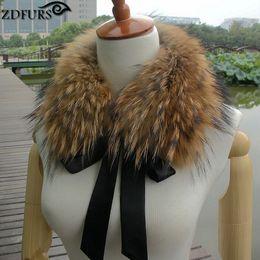 $enCountryForm.capitalKeyWord Australia - wholesale * real raccoon fur collar muffler fur scarf for winter raccoon dog fur collar for wool coat ZDC-163012