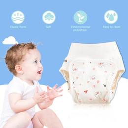 $enCountryForm.capitalKeyWord Australia - Pure Cotton Reusable Baby Diapers Waterproof Washable Infant Cloth Nappies Boys Girls Underwear Nappy Changing Panties Baby Care
