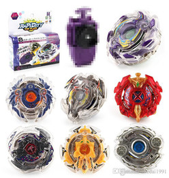 $enCountryForm.capitalKeyWord Australia - 8 Stlyes New Spinning 4D Top Beyblade BURST With Launcher And Original Box Metal Plastic Fusion fighting gyro Gift Toys For Children 3053