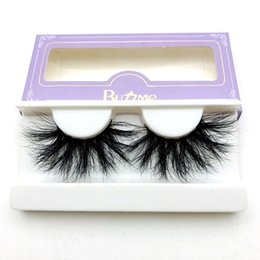 Wholesale Boxes Packaging Australia - 3D Real Mink 25mm Lashes Luxury Mink Strip Custom Packaging Paper Box High Quality Beauty Tool