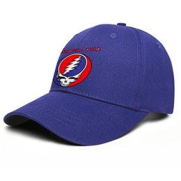 books live Canada - Fashion Grateful Dead Steal Your Face Live album Unisex Baseball Cap Custom Unique Trucke Hats grateful dead Flower coloring book th in