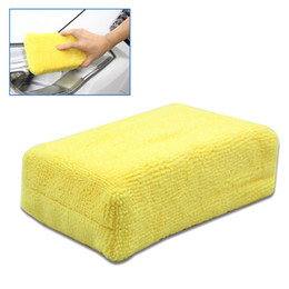 body foam sponge Australia - New Fine Fiber Sponge Wiper Cleaner Auto Window Body Cleaning Sponges Ultra-soft Applicator Foam CSL2018