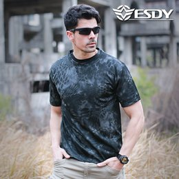 $enCountryForm.capitalKeyWord UK - Direct-selling round-collar fast-drying breathable camouflage T-shirt loose mesh printing short-sleeve military training outdoor sports men