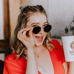 $enCountryForm.capitalKeyWord NZ - Vintage Round Classic Sunglasses Women Men Eyeglasses Street Beat Shopping Mirror Female Glasses Oculos De Sol Gafas UV400 Z204