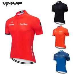 STRAVA Pro Cycling Jerseys Short Sleeve Cycling Clothing MTB Bike Clothing Summer Road Bicycle Jerseys Men's Uniform on Sale