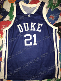 f34e4927737 Cheap custom Duke Basketball Jersey  21 Miles Plumlee Chris Duhon Jay Bilas  Stitched Customize any number name MEN WOMEN YOUTH XS-5XL