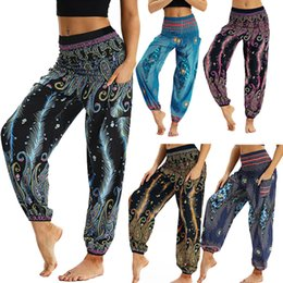 $enCountryForm.capitalKeyWord NZ - women's yoga pant 2019 leggings de deporte Men Women Casual Loose Hippy Yoga Trousers Baggy Boho Aladdin Harem Pants