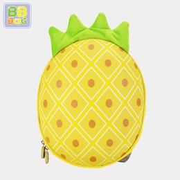 Cute Satchel Backpacks Australia - Korean Stylish Brand School Bag for Girls EVA Waterproof Satchel Cute Pineapple Pattern Backpack for Preschool Boys Girls Students