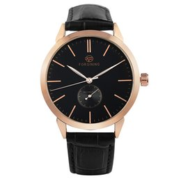 $enCountryForm.capitalKeyWord Australia - Luxury Automatic-self-winding Mechanic Watch for Male Fashion Large Dial Watches for Classic Soft Genuine Leather Strap Wristwatch for Men
