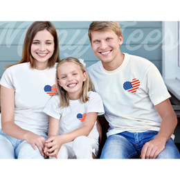 $enCountryForm.capitalKeyWord Australia - NEW High-quality Family 100%Cotton t-Shirt Mother and Daughter father Son Clothes Matching Princess Prince free shipping