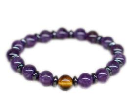 Alloy bAlAnce online shopping - 12pcs Mala Good luck bracelet Balance bracelet Reiki healing stone bracelet Stress relief gift Birthday gift for sister gift for mom