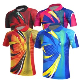 Sportswear T Shirt Badminton Australia - Butterfly Badminton Suit Sportswear for Men & Women & Kids Short Sleeve T-shirt Leisure Running Basketball casual wear Table tennis B6012
