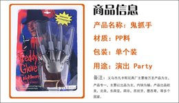 wolf claw NZ - Halloween Wolf Gloves Ghost Claw Hand Gloves Cosmetic Ball Performing Mens Clothing Claw Performing Projects