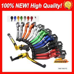 10colors CNC palancas para SUZUKI TL1000R 98 99 00 01 02 03 TL1000 R 1998 1999 2000 2002 2003 CL704 plegable extensibles freno palancas de embrague en venta