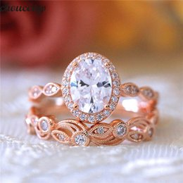 Diamond Band Set Australia - choucong Vintage Flower ring set Diamond 925 sterling silver Engagement Wedding Band Rings for women men Fashion Jewelry