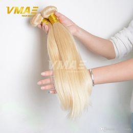 $enCountryForm.capitalKeyWord Australia - 613 Blonde Virgin Brazillian VMAE Straight Hair 3 Bundles Honey Blond Brazilian Hair Unprocessed Blonde Virgin human Hair weave