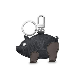 $enCountryForm.capitalKeyWord Australia - Mp1994 New Pig Bag And Keychain Gray Key Holders And More Leather Bracelets Chromatic Bag Charm And Key Holder Scarves Belts
