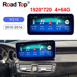 mercedes benz car radio Canada - 10.25 Inch Android 8 Car Radio Bluetooth GPS Navigation WiFi Head Unit Screen for Mercedes Benz 2010-2016 CLS250 CLS350 CLS400 CLS500 CLS63
