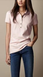 0853795edb96c 19ss женские дизайнерские футболки топы тройники с коротким рукавом хлопок  женщины рубашки поло большой размер сплошной цвет тенденции моды дизайнер  бренда ...