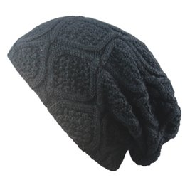 $enCountryForm.capitalKeyWord UK - BONJEAN 2017 halloween Skullies Bonnet Winter Hats Beanies For Women Men knitted Warm slouchy Baggy Knit Winter Hat Caps
