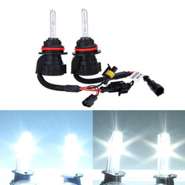 benz headlights UK - Makibes 6000K 9004 9007-3 55W 12V Xenon HID Kit Car Headlight Xenon Bulb Slim Ballast - Black + Silver