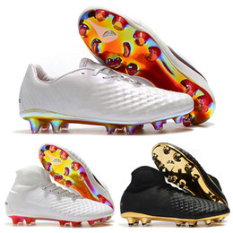 804c2b249ffd 2018 World Cup Mens High Ankle Football Boots Magista Obra II FG Soccer  Shoes Original Magista 2 Superfly ACC Outdoor Soccer Cleats