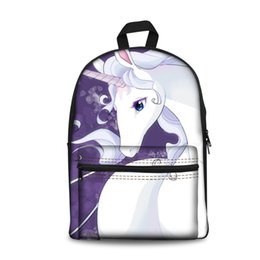fc0903b361 Cute Anime Backpacks Australia - Newest Anime Printed Cute Horse Girls Boys  Ladies gentleman Fashion Daily