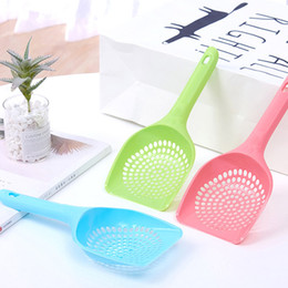 $enCountryForm.capitalKeyWord NZ - Cat litter remove shovel plastic shovel kitty toilet use cleaning scoop long handle smooth surface healthy clean tool two size toilet sand
