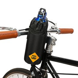 Discount cycle water bottle holder - 1 Pcs Insulation Cycling Kettle Holder Bag Bicycle Front Handlebar Hanging Water Bottle Bag Bike Accessory