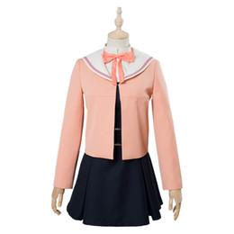 $enCountryForm.capitalKeyWord UK - Anime Bloom Into You Nanami Touko Cosplay Costume Dress Girls School Uniform Dress Halloween Carnival Cosplay Costumes