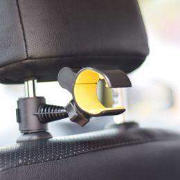 $enCountryForm.capitalKeyWord Australia - 2 in 1 Portable Car Rear Seat Mobile Phone Bracket Universal Head Pillow Back Phone Hook Holder