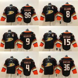 Corey perry jersey online shopping - 2019 Anaheim Ducks Jersey Ryan Getzlaf Ryan Kesler Corey Perry Gibson Black hockey jerseys