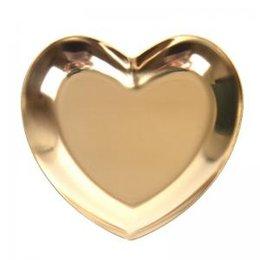 Нержавеющая сталь сердце дисплей лоток Главная хранения пластины металлическая форма сердца пластины Home Shop дисплей лоток держатель фотографии WWA90