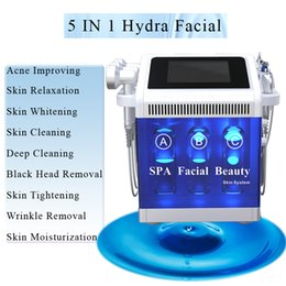 Spa head online shopping - microdermabrasion dermabrasion machine Skin Cleaning black head removal Oxygen Spray Skin Moisturization hydra facial machine SPA beauty use