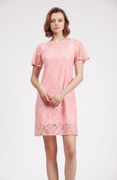 $enCountryForm.capitalKeyWord NZ - Bur Woman dress water soluble lace skirt Apricot pink light green Charming and sexy Solid color minimalist style