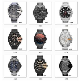 Zone green battery online shopping - Multiple time zone oversize male watches Original box and Retail