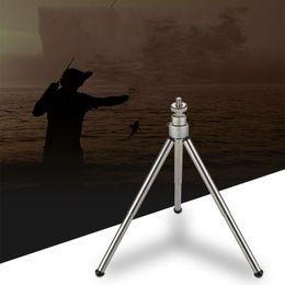 Angle holder online shopping - Mini Tripod Angling Bracket Night Fishing Light Holder Universal Adjustment Support Edc Aluminium Alloy Anti Wear lt C1