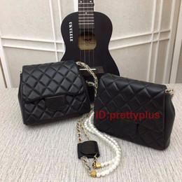 $enCountryForm.capitalKeyWord Australia - High Quality A+++ Brand Luxury Handbag Designer Handbag Ladies Chain Shoulder Bag Signature Wallet Free Shipping