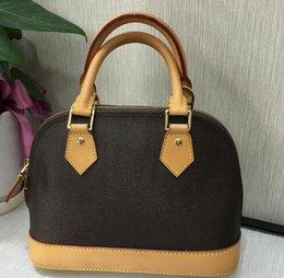 Luxo Clássico Shell Bag Damier Oxdiex Designer de Couro Real Bolsas de Ombro M53151 Mulheres Famosas Da Marca Da Lona Crossbody Bolsa de Compras