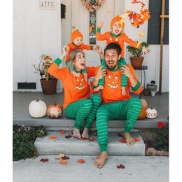 $enCountryForm.capitalKeyWord Australia - Hallowmas mommy and daughter matching outfits family matching outfits baby clothes baby suits mother baby daughter matching outfits A7074