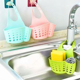 $enCountryForm.capitalKeyWord NZ - wholesale 1pcs Kitchen Sink Shelf Sponge Drain Rack Bathroom Holder Storage Suction Cup Kitchen Organizer Sink home