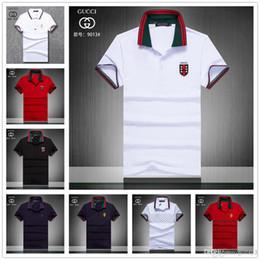 724d16126 2019 Poloshirt Solid Polo Shirt Men Luxury Polo Shirts short Sleeve Men's  Basic Top Cotton Polos For Boys Brand Designer Polo Homme MP016