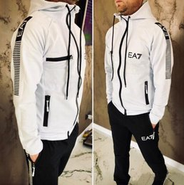Palace Printing online shopping - palaces Tracksuit For Men Pieces Set MXN armani Jacket Sportswear Mens Tracksuit Hoodie Spring Autumn Clothes Hoodies Pants