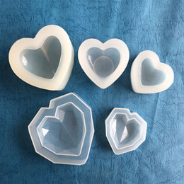 $enCountryForm.capitalKeyWord Canada - Wholesale 3D Raw Heart Mouse Fondant Silicon Jewelry Molds Chocolate Cookies Shapes Cakes Sweet Ice Cube Bake Decorate Tools