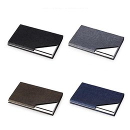 $enCountryForm.capitalKeyWord Australia - Newest Colorful Portable Innovative Design Flip Cover Storage Box PU leather Container Case Holder For Cigarette Smoking Tool High Quality