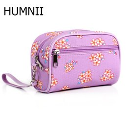 Multi Color Hand Bag Australia - HMUNII New Portable Hand-held Fashion Simple Cosmetic Bag Ladies Waterproof Multi-color Printing Large-capacity Cosmetic Bag