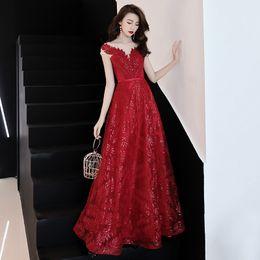$enCountryForm.capitalKeyWord Australia - Sexy Chinese Evening Dresses Flower Embroidery Qipao Long Cheongsam Bride Oriental Wedding Dress Size S-XXL