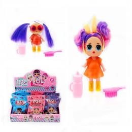 $enCountryForm.capitalKeyWord Australia - American style 4inch hair Dolls funko pop fashion Christmas gift Action Figures Realistic Reborn Dolls for girls kids toys