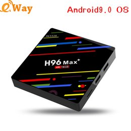 Media Player Australia - H96 MAX Plus Android 9.0 TV Box Smart Set top box Rockchip RK3328 2GB 16GB USB3.0 H.265 4K Media Player
