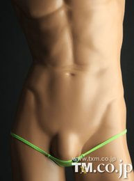 G strinG fashion hot online shopping - New Hot TM Mens Jockstrap Jock Straps Thongs G Strings Popular Brand Sexy Mens Underwear Gay Fashion Design Penis Pouch